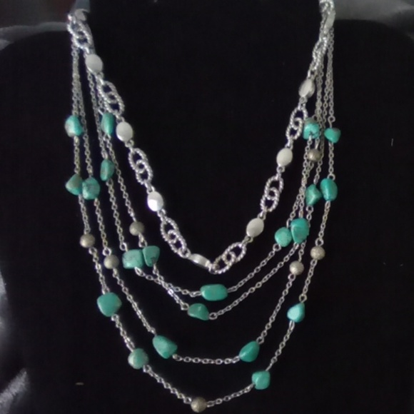 Vintage Jewelry - Vtg Turquoise Necklaces Set. Nice!